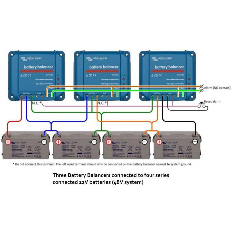 Балансир батареи Victron Energy Battery balancer 48 вольт