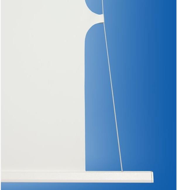 Дополнительное горизонтальное натяжение для идеально ровной плоскости